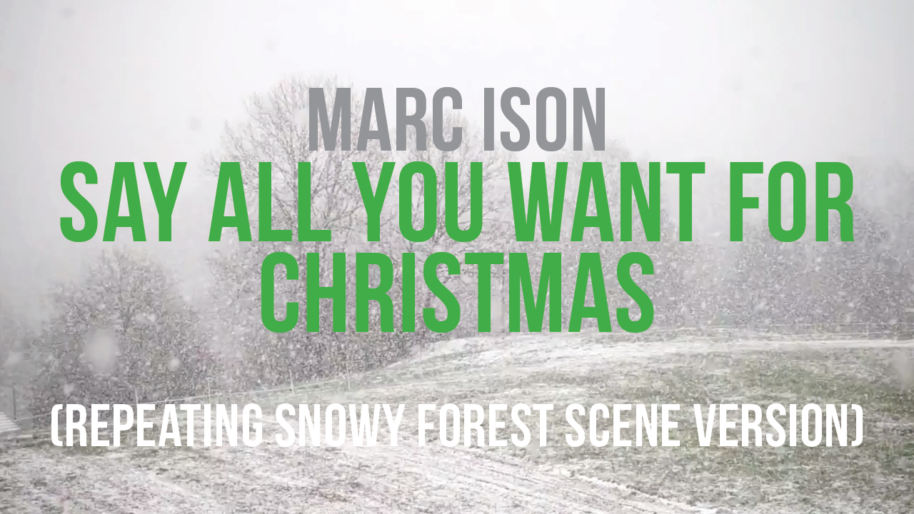 Say All You Want For Christmas - Marc Ison Thumbnail